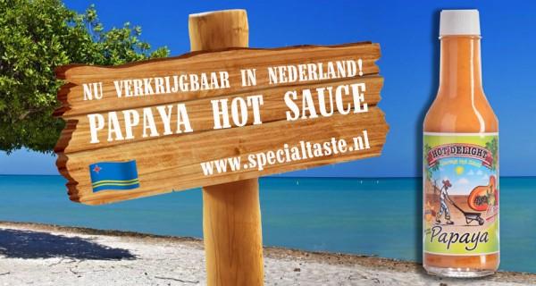 Arubaanse pika di Papaya verkrijgbaar in Nederland!
