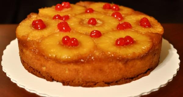 Upside Down Ananas Cake (variatie)